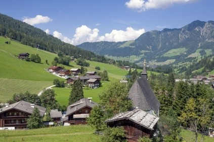 De smukke og hyggelige Alper