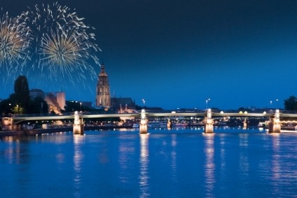 Nytårstogt på Rhinen. Altid populært