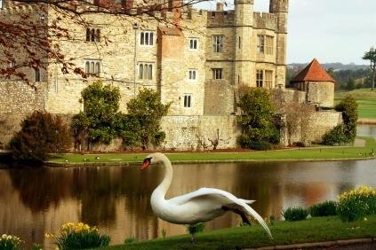 Kom med på en fantastisk rejse til Sydenglands smukke haver og slotte