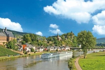 Kom med på dette fantastiske togt på Rhinen Mosel og Main