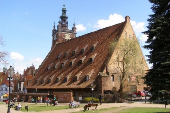 I Gdansk er der guided rundtur