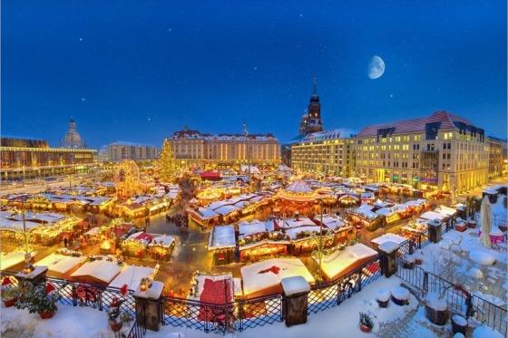 Julemarked i Dresden - smukt