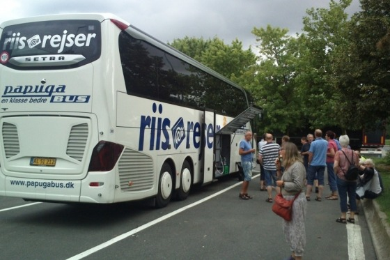 Afrejse mod Saalbach-Hinterglemm