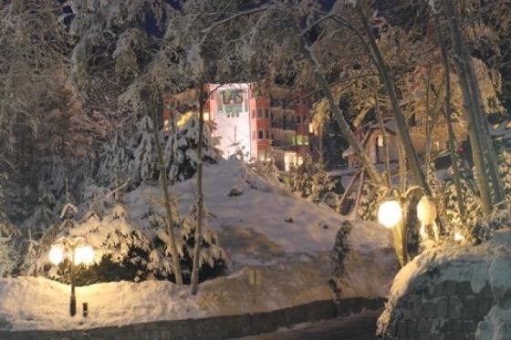 En dejlig nytårsaften på Hotel Las i Polen