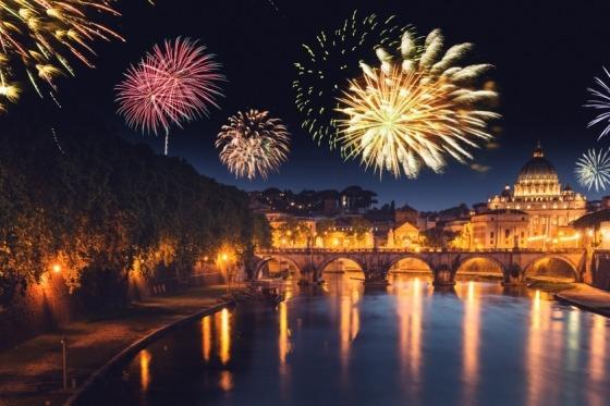 Hold nytår i smukke Rom