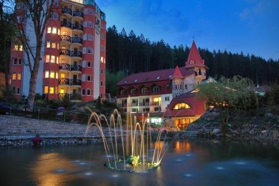 Vi bor på Hotel Las i Szklarska Poreba