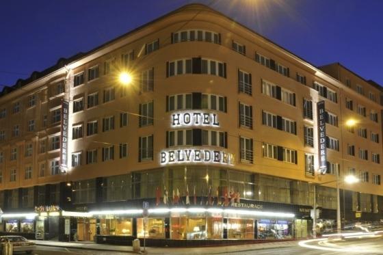 Hotel Belvedere er vores base i Prag