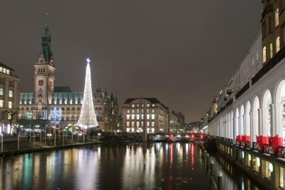 Vi besøger Hamborg på vejen til Bad Bramstedt