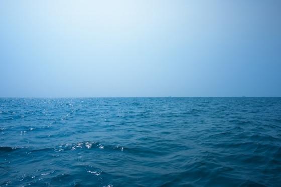 Ud i det blå