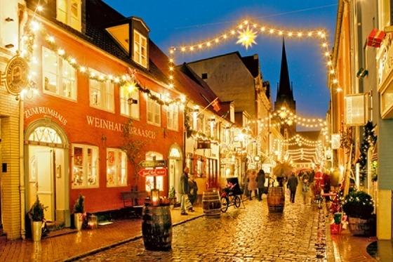 Vi har et par timer i Flensburg