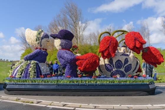 En eksplotion af farver og dufte - Blomsterparade i Lisse skal opleves!
