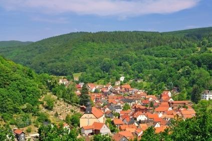 Thüringen ligger smukt i midten af Tyskland