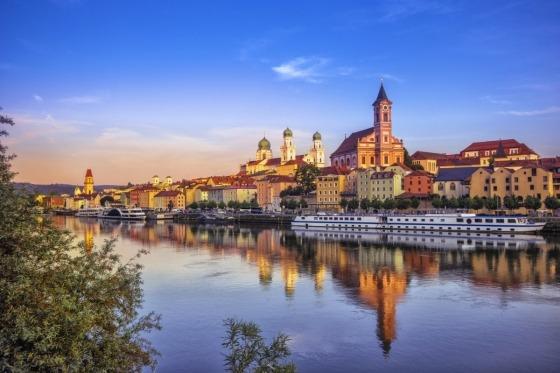 Tag med på flodkrydtogt på Donau fra Passau til Budapest